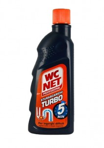 WC NET Turbo - płyn do udrażniania rur (500 ml)