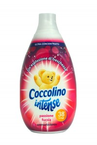 Coccolino Intese Fuksja - Koncentrat do płukania tkanin (570 ml - 38 p.)